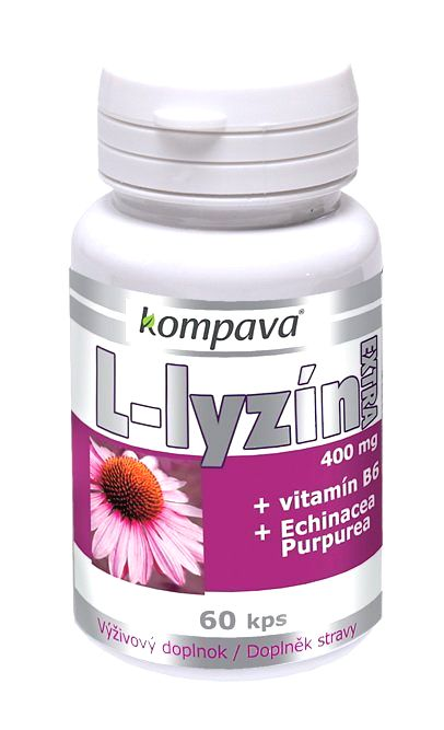 L-Lyzín extra - Kompava 60 kaps