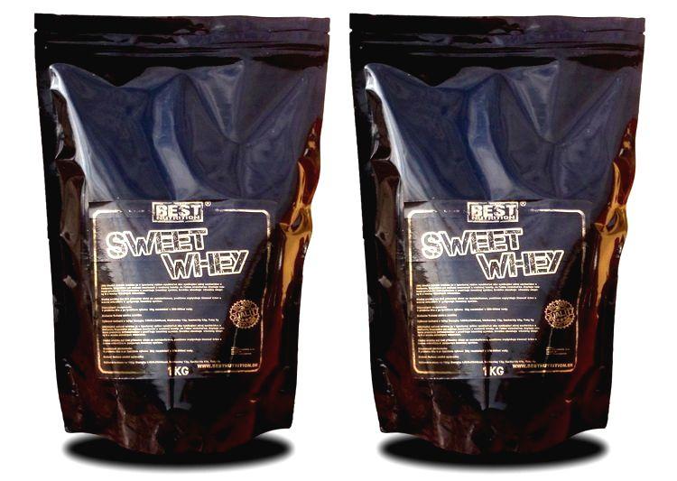 1+1 Zadarmo: Sweet Whey od Best Nutrition 1
