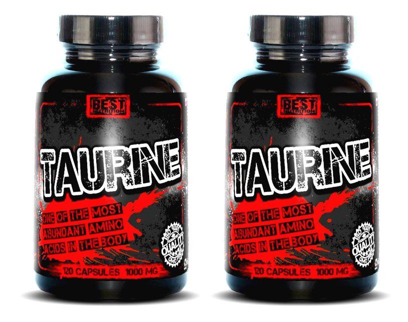 1+1 Zadarmo: Taurine od Best Nutrition 250 kaps. + 250 kaps.