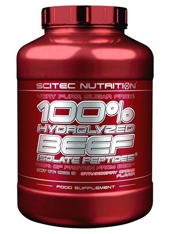 100% Hydrolyzed BEEF - Scitec Nutrition 900 g Mandle+Čokoláda