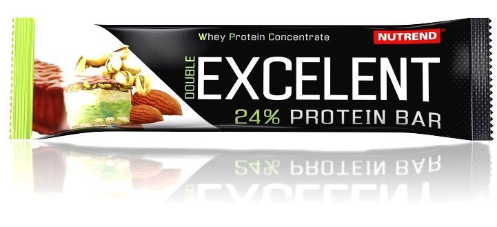 Tyčinka Double Excelent Protein Bar - Nutrend 85 g Čokoláda+nugát s brusinkami