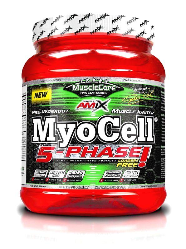 MyoCell 5 phase - Amix 500 g Lemon Lime