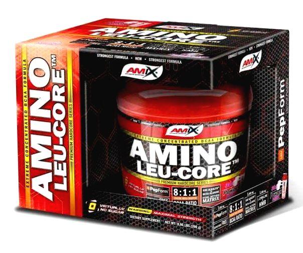 Amino LEU-CORE 8:1:1 - Amix 390 g Fruit Punch
