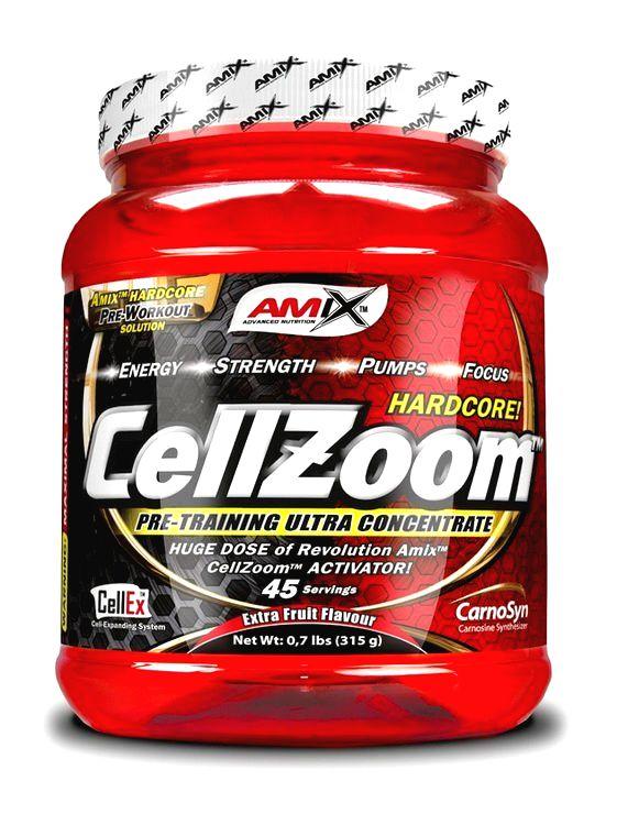 CellZoom Hardcore - Amix 315 g Fruit Punch