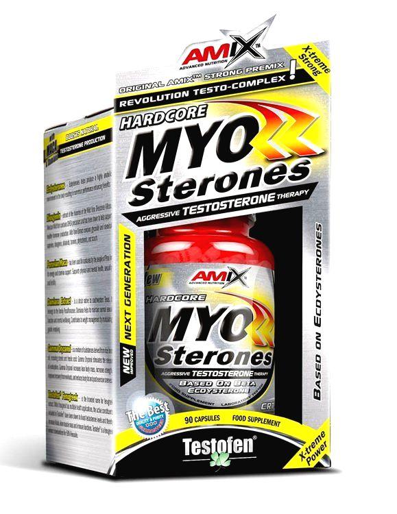 Myo Sterones - Amix 90 kaps.