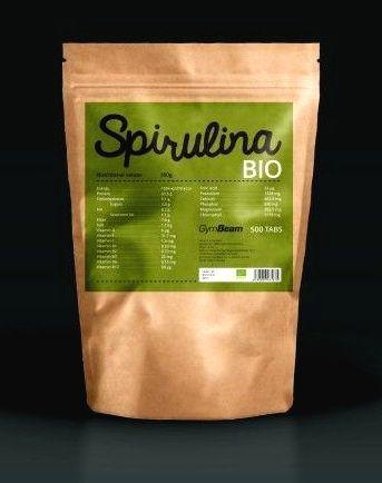 Bio Spirulina tablety - GymBeam 500 tbl.