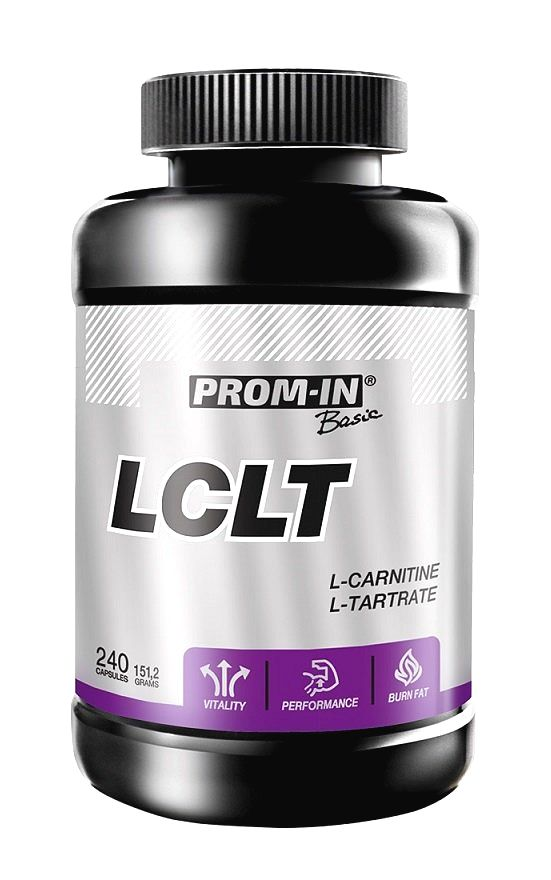 LCLT: Carnitine Tatrate - Prom-IN 240 kaps.