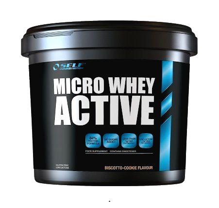 Micro Whey Active od Self OmniNutrition 2000 g Vanilka