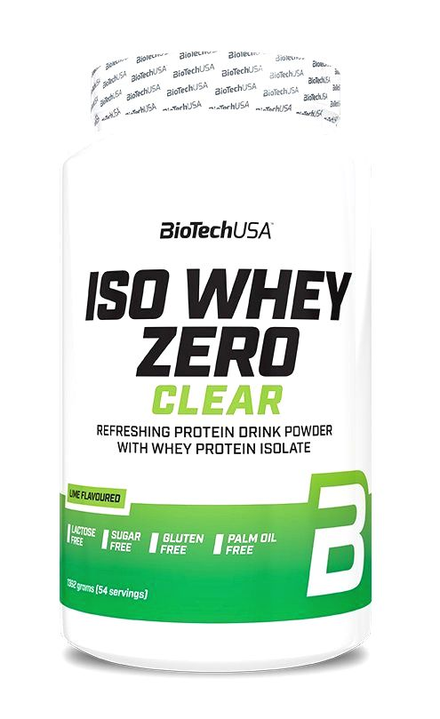 Iso Whey ZERO Clear - Biotech USA 1362 g Tropical Fruit