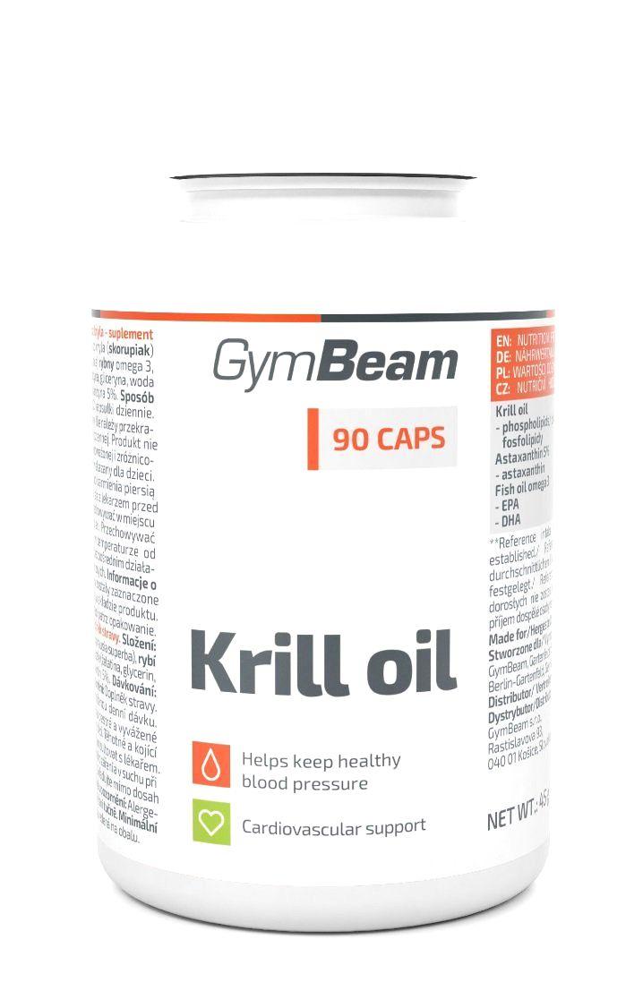 Krill Oil - GymBeam 90 kaps.