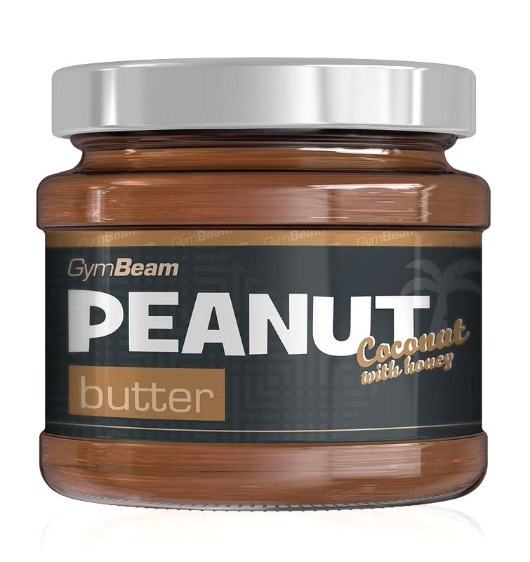 Peanut Butter - GymBeam 340 g Smooth