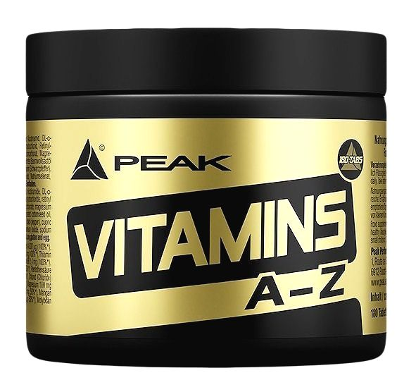 Vitamins A-Z - Peak Performance 180 tbl.