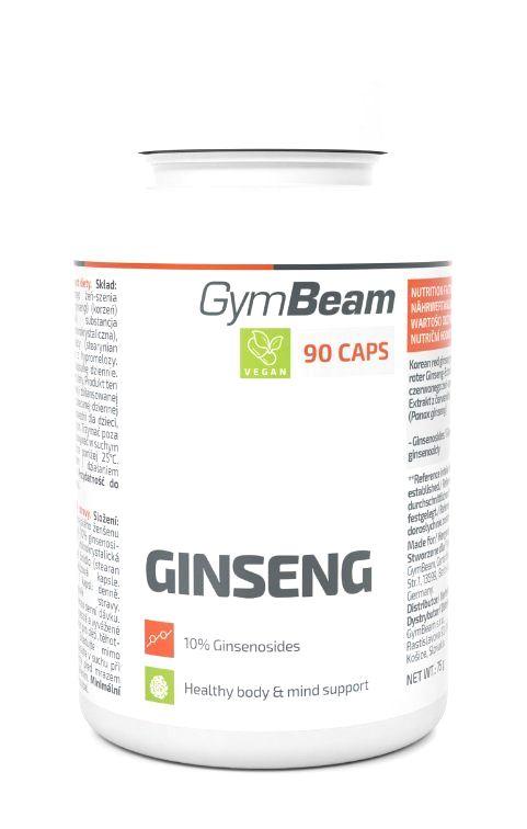 Ginseng - GymBeam 90 kaps.