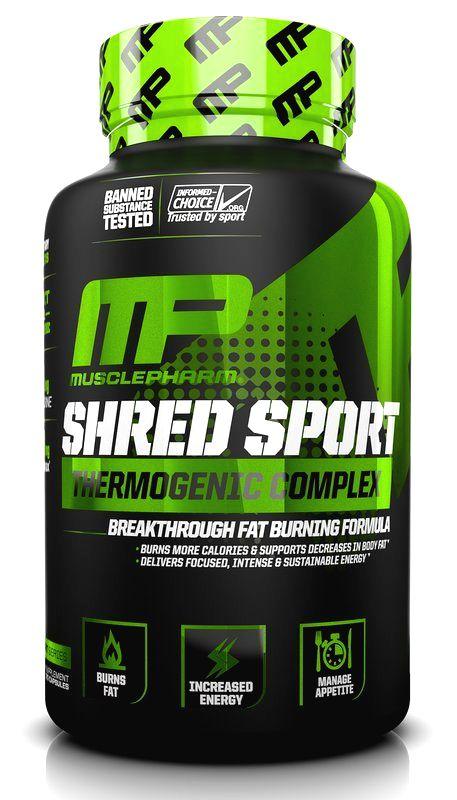 Shred Sport - Muscle Pharm 60 kaps.