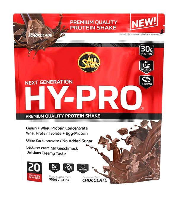 Hy Pro 85 - All Stars 500 g White Chocolate