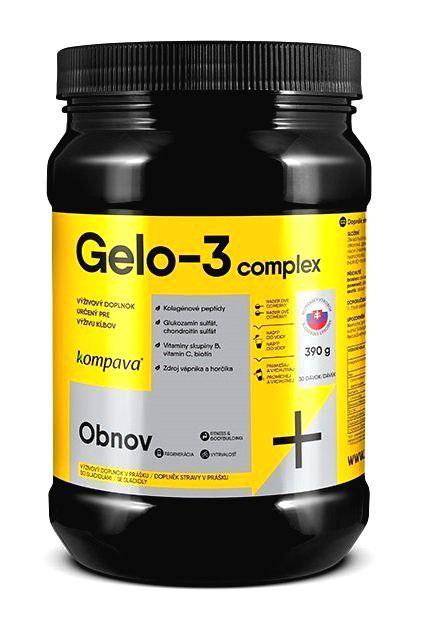 Gelo-3 complex - Kompava 390 g Pomaranč