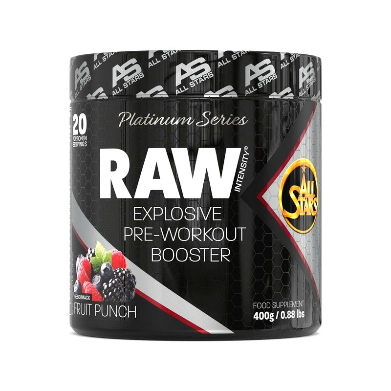 Raw Intensity - All Stars 400 g Tropical Punch