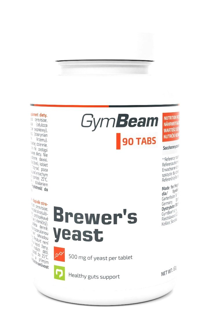 Brewers Yeast - GymBeam 90 kaps.