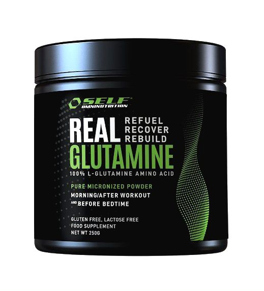 Real Glutamine od Self OmniNutrition 500 g