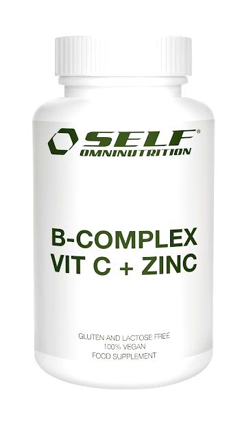 B-COMPLEX VIT C + ZINC - Self OmniNutrition 120 kaps.
