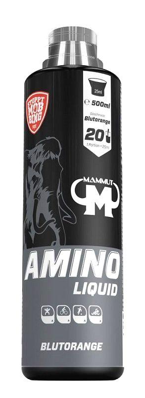 Amino Liquid - Mammut Nutrition 500 ml. Blood Orange