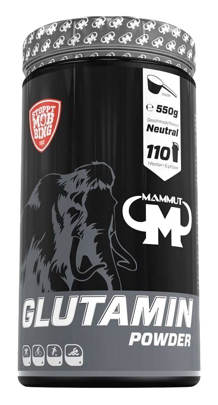 Glutamin Powder - Mammut Nutrition 550 g
