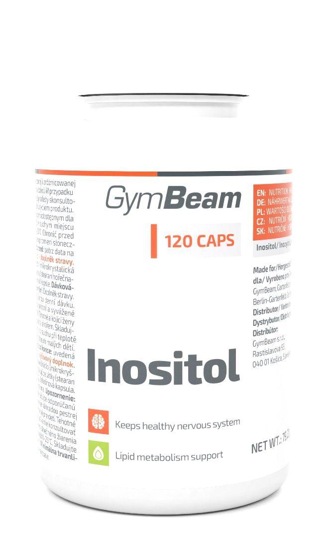 Inositol - GymBeam 120 kaps.