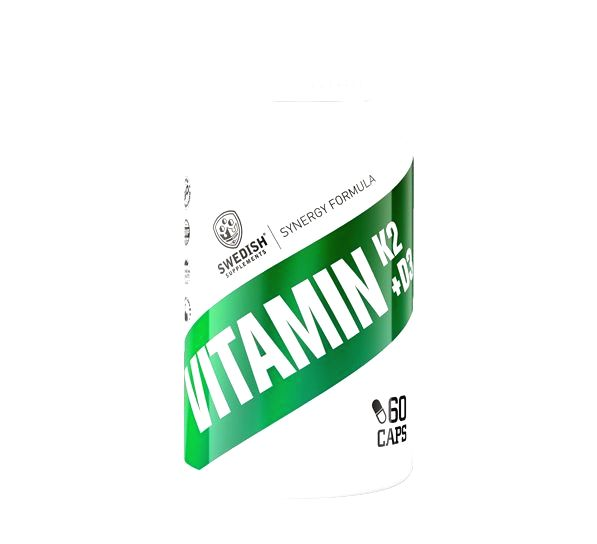 Vitamin K2 + D3 - Swedish Supplements 60 kaps.