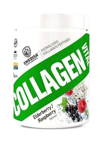 Collagen Vital - Swedish Supplements 400 g Elderberry Raspberry