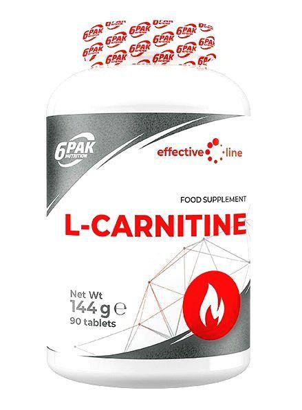 L-Carnitine - 6PAK Nutrition 90 tbl.