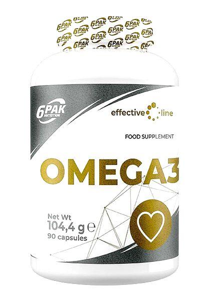 Omega 3 - 6PAK Nutrition 90 kaps.