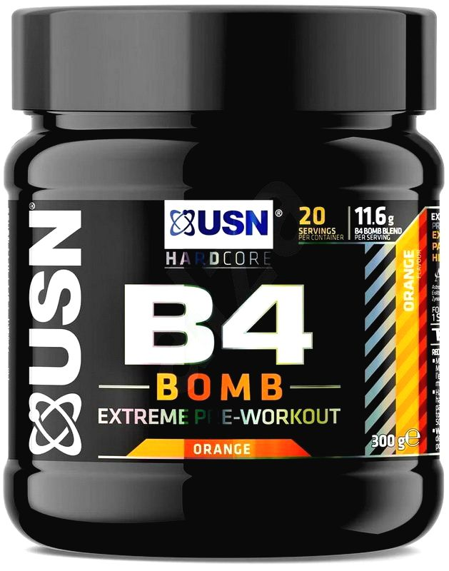 B4 BOMB - USN 300 g Orange