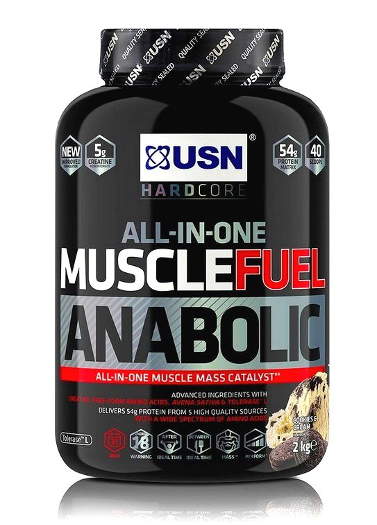 Muscle Fuel Anabolic - USN 2000 g Strawberry