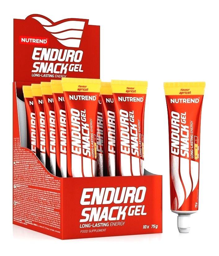 EnduroSnack Gel tuba - Nutrend 10 x 75 g Salted Caramel