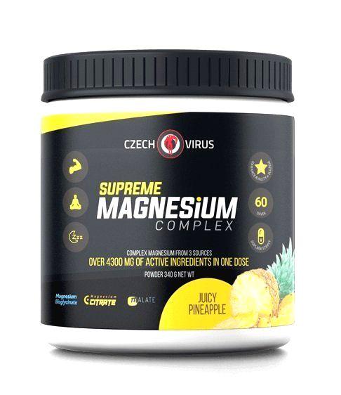 Supreme Magnesium Complex - Czech Virus 340 g Juicy Pineapple
