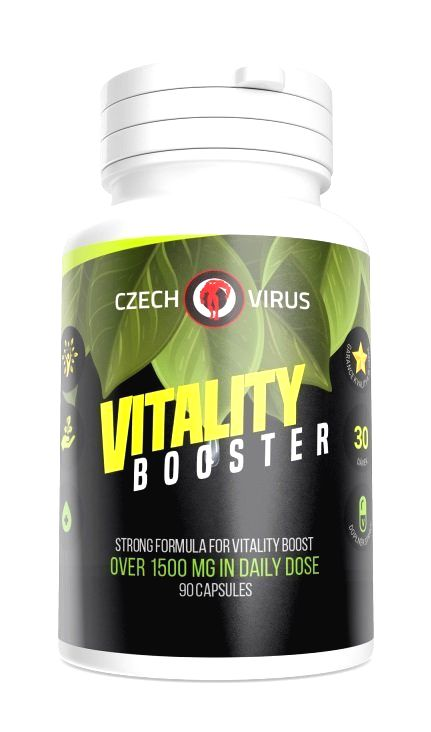 Vitality Booster - Czech Virus 90 kaps.