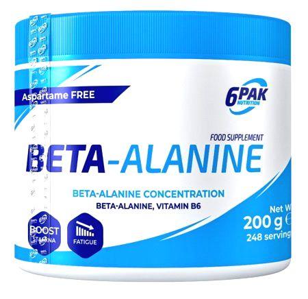 Beta-Alanine - 6PAK Nutrition 200 g