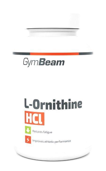 L-Ornithine HCl - GymBeam 90 kaps.