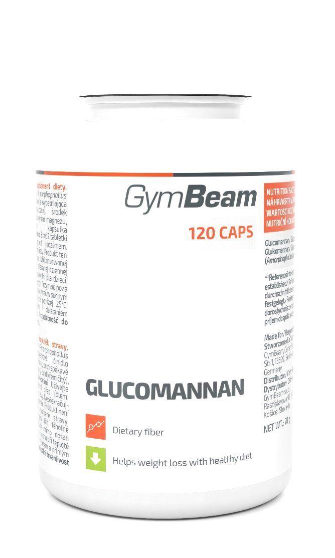 Glucomannan - GymBeam 120 tbl.