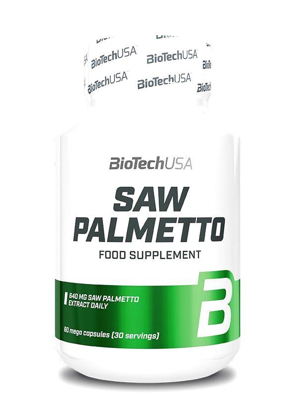 Saw Palmetto - Biotech USA 60 kaps.
